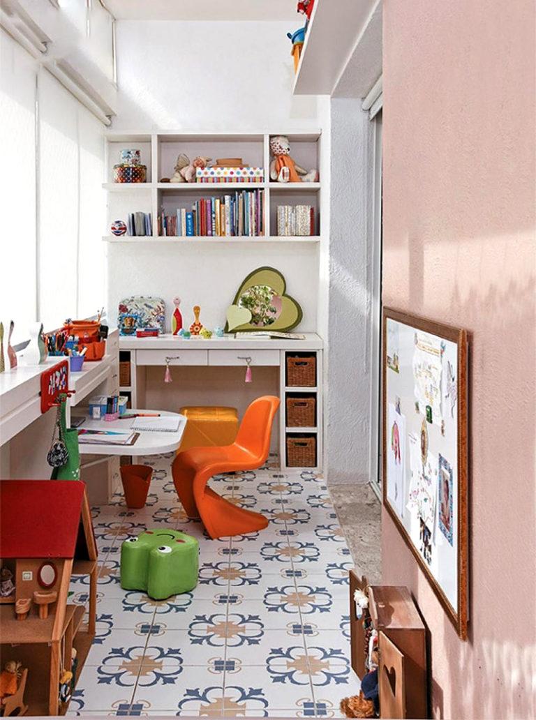 Дизайн детская с балконом