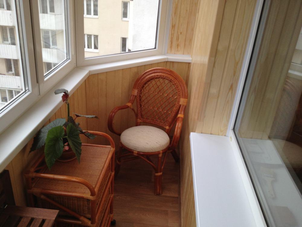 Дизайн балкона п-44 с электрогрилем.