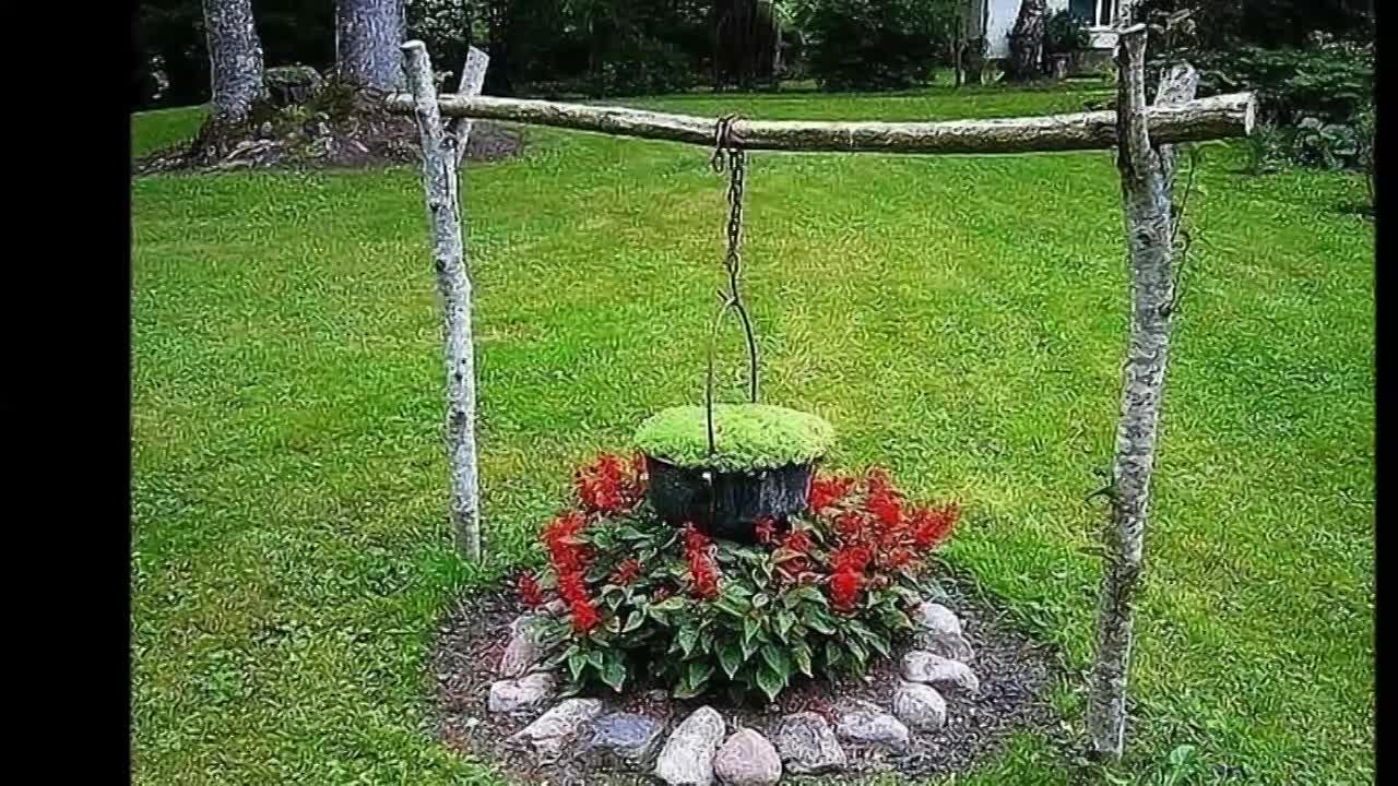 Идеи клумб для сада и дачи