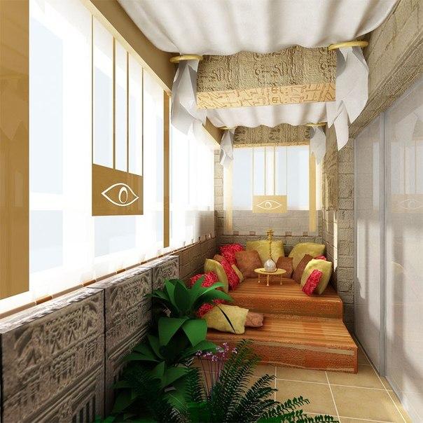 Идеи дизайна балкона с фото
