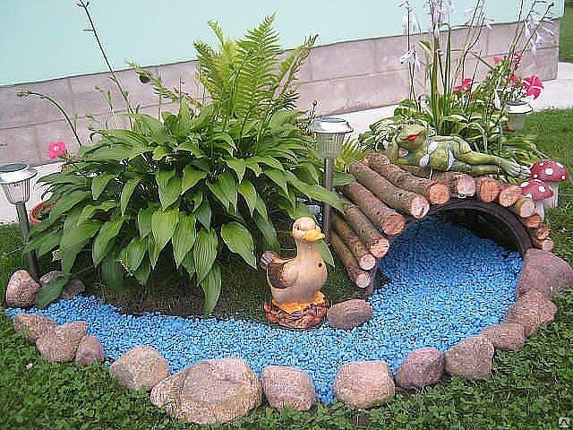 Как красиво сделать сад своими руками