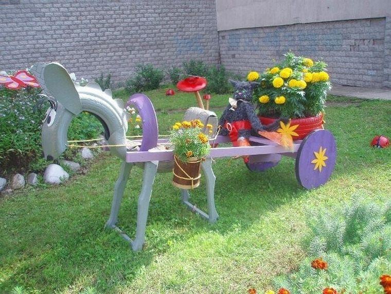 Интересные идеи для сада и дачи с фото СтройДомУют116