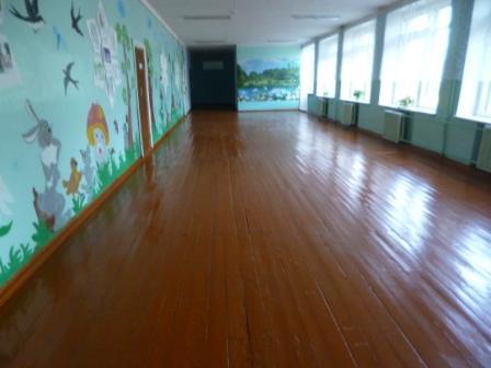 покрасить старый деревянный пол