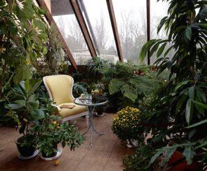 Постройка зимнего сада